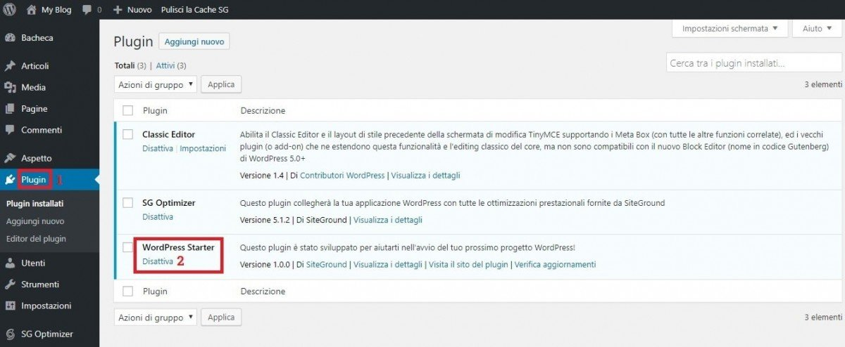 Quali plugin wordpress installare